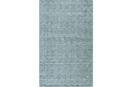 24X36 Rug-Peter Wool Sheen Teal