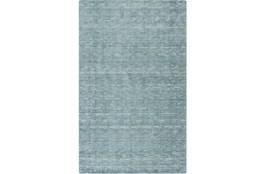 60X96 Rug-Peter Wool Sheen Teal