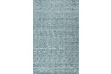 5'x8' Rug-Peter Wool Sheen Teal