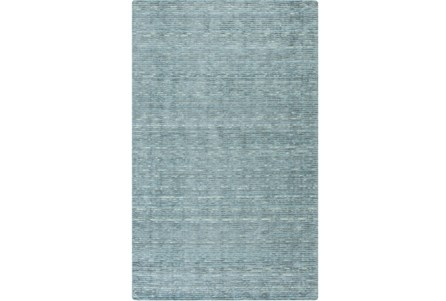 60X96 Rug-Peter Wool Sheen Teal
