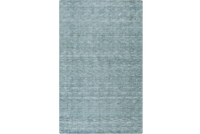 8'x11' Rug-Peter Wool Sheen Teal - 360