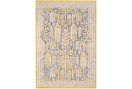 63X87 Rug-Willow Traditional Yellow