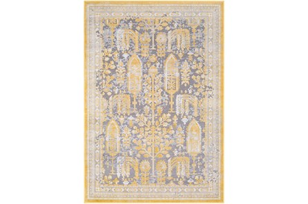 94X123 Rug-Willow Traditional Yellow - Main