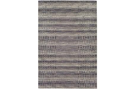 96X120 Rug-Roma Wool Grey