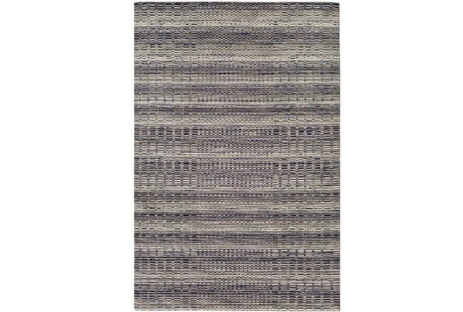 96X120 Rug-Roma Wool Grey - 360