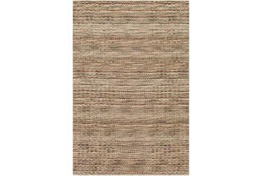 "5'x7'5"" Rug-Roma Wool Brown"