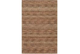 96X120 Rug-Roma Wool Brown