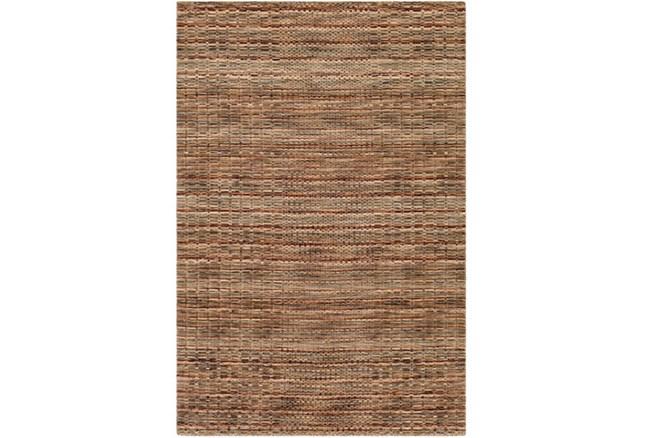 96X120 Rug-Roma Wool Brown - 360
