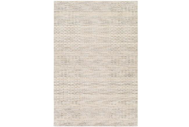 96X120 Rug-Roma Wool Cream - 360