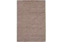 2'x3' Rug-Braided Wool Blend Mushroom