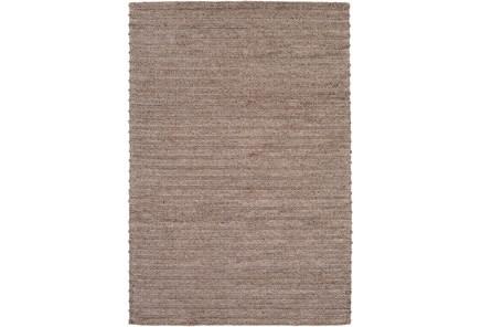 24X36 Rug-Braided Wool Blend Mushroom