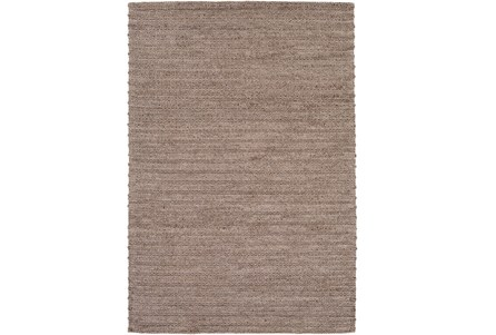 48X72 Rug-Braided Wool Blend Mushroom