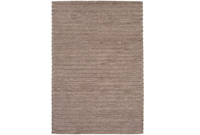 60X90 Rug-Braided Wool Blend Mushroom - 360