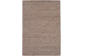 96X120 Rug-Braided Wool Blend Mushroom