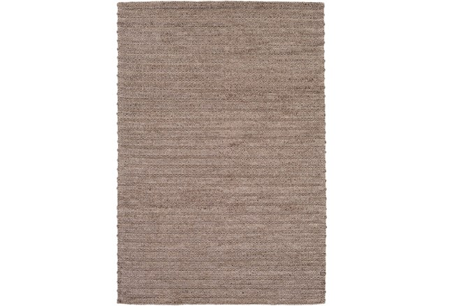 96X120 Rug-Braided Wool Blend Mushroom - 360