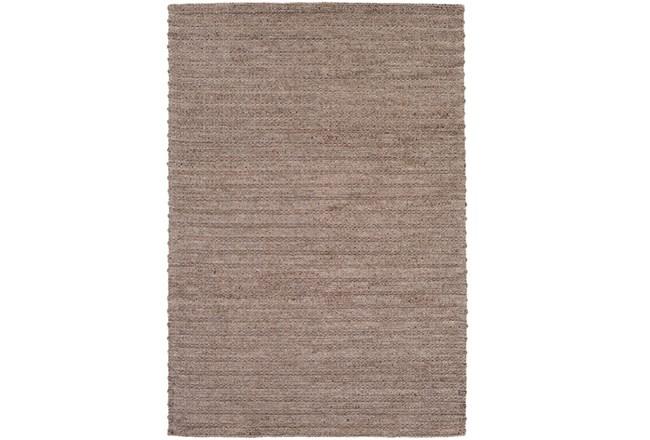 108X156 Rug-Braided Wool Blend Mushroom - 360