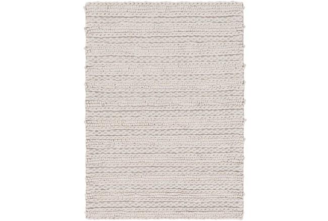 2'x3' Rug-Braided Wool Blend Grey - 360