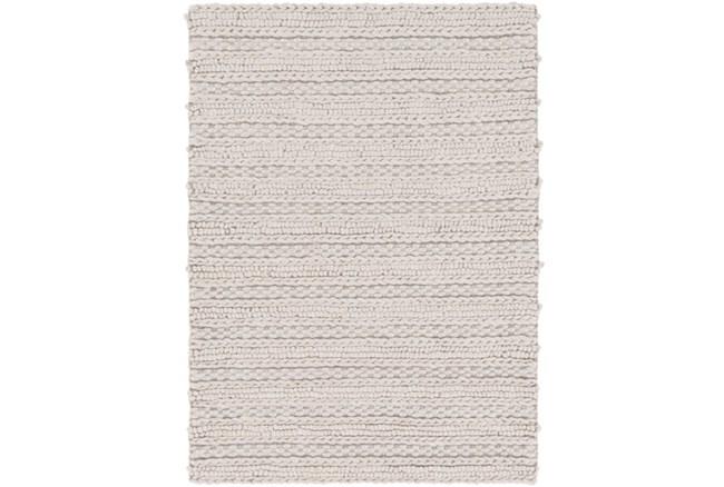 8'x10' Rug-Braided Wool Blend Grey - 360