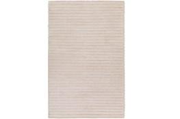 4'x6' Rug-Braided Wool Blend Ivory