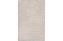 72X108 Rug-Braided Wool Blend Ivory