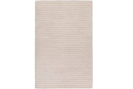 96X120 Rug-Braided Wool Blend Ivory