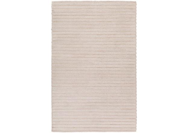 9'x13' Rug-Braided Wool Blend Ivory - 360