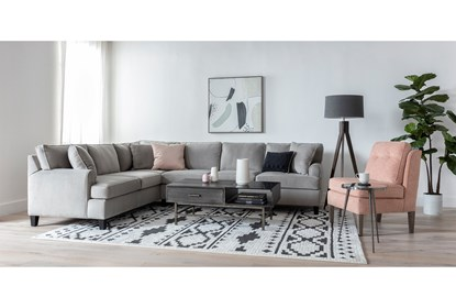 63x87 Rug Graphic Tile Shag Black White Living Spaces