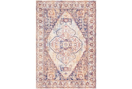 94X126 Rug-Gelson Denim Sunset