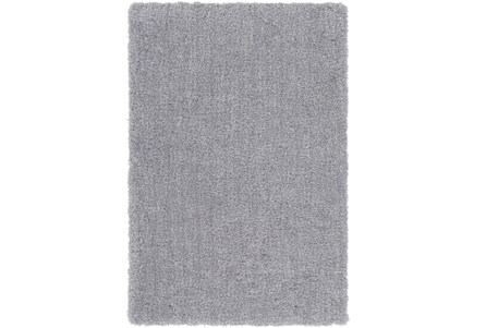 24X36 Rug-Plush Pile Light Grey
