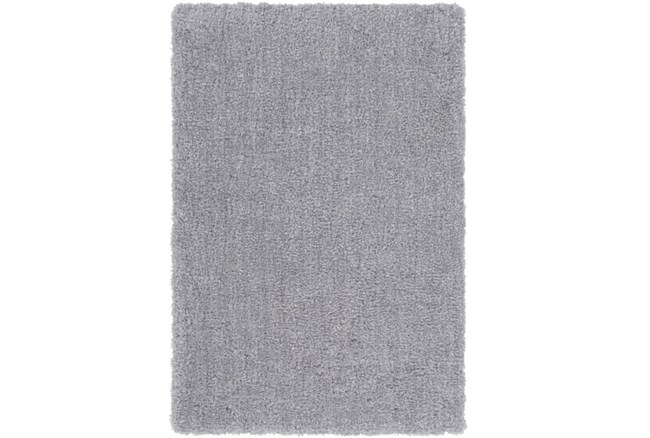 48X72 Rug-Plush Pile Light Grey - 360