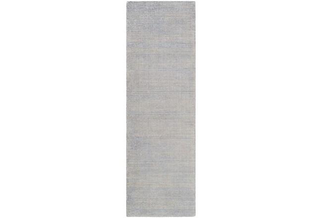 30X96 Rug-Taylor Wool Blend Grey - 360