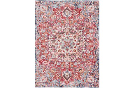 47X71 Rug-Cosmic Traditional Red
