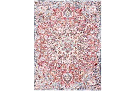 63X87 Rug-Cosmic Traditional Red