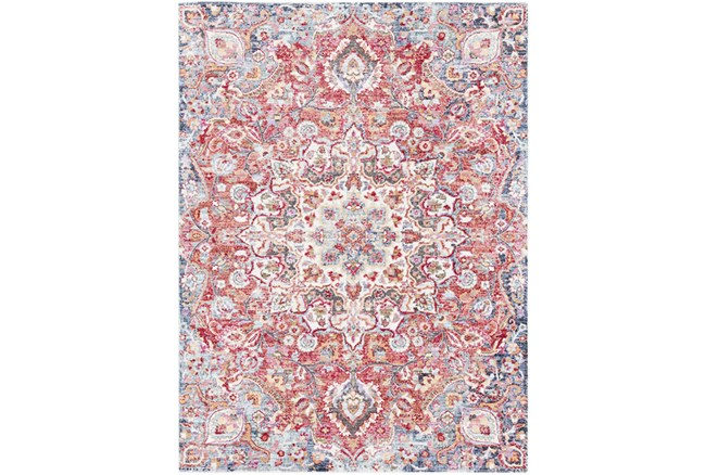 63X87 Rug-Cosmic Traditional Red - 360