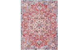 108X156 Rug-Cosmic Traditional Red