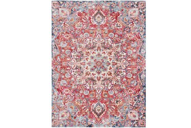 9'x13' Rug-Cosmic Traditional Red