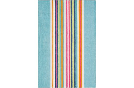 24X36 Rug-Wool Summer Stripe