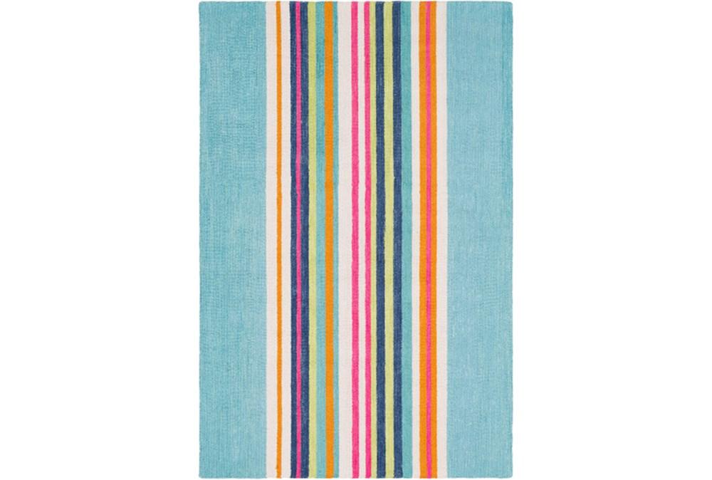 60X90 Rug-Wool Summer Stripe
