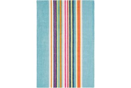 96X120 Rug-Wool Summer Stripe
