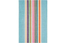 96X120 Rug-Wool Summer Stripe