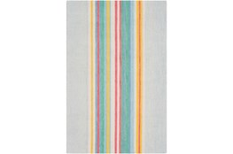 24X36 Rug-Wool Spring Stripe