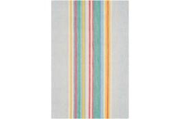 96X120 Rug-Wool Spring Stripe