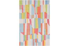 24X36 Rug-Wool Spring Abstracts
