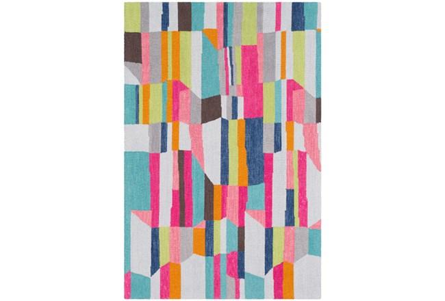 24X36 Rug-Wool Summer Abstracts - 360