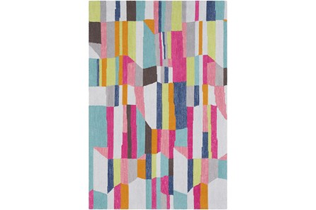 96X120 Rug-Wool Summer Abstracts
