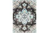 24X36 Rug-Medallion Shag Aqua & Grey - Signature
