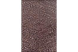 24X36 Rug-Diamond Hair On Hide Dark Brown