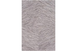 60X96 Rug-Diamond Hair On Hide Taupe