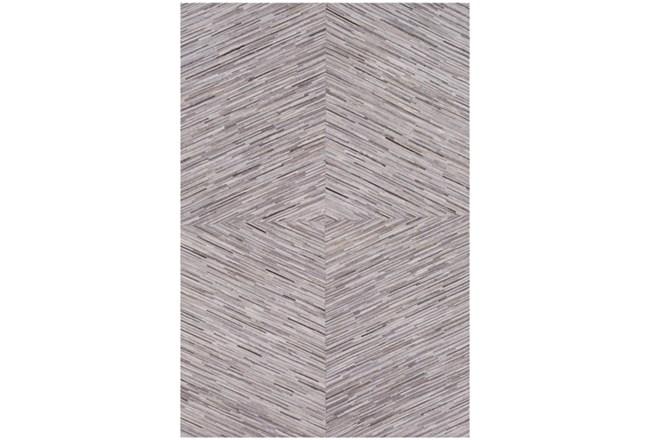 96X120 Rug-Diamond Hair On Hide Taupe - 360
