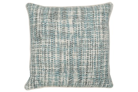 Accent Pillow-Mallard And Ivory Tweed 22X22 - Main